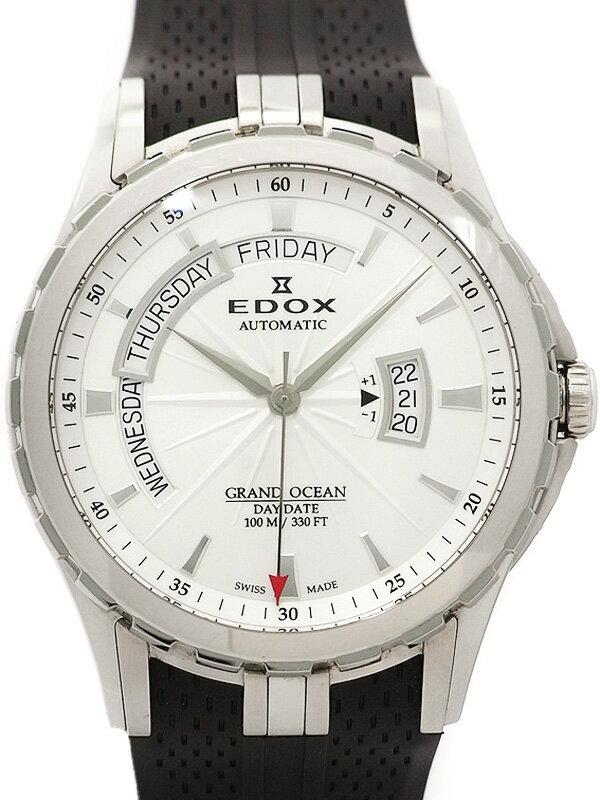 【EDOX】エドックス『グランドオーシャン』83006-3-AIN メンズ 自動巻き 3ヶ月保証【中古】