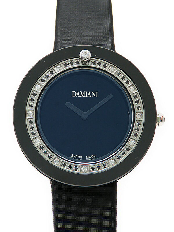 【DAMIANI】ダミアーニ『ベルエポック ベゼルダイヤ』30014565 レディース クォーツ 3ヶ月保証【中古】