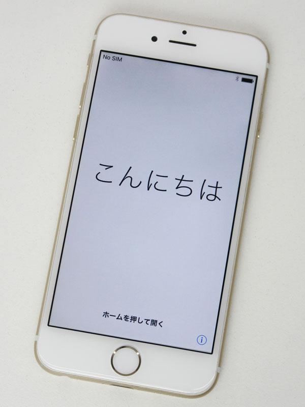 アップル『iPhone 6 64GB SoftBank』MG4J2J/A  iOS10.3.2 ゴールド 4.7型Retina 白ロム ○判定 スマートフォン【中古】