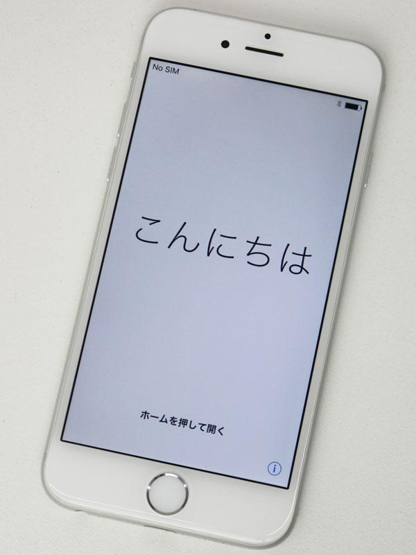 【Apple】アップル『iPhone 6 16GB au』MG482J/A シルバー iOS10.3.1 4.7型 白ロム ○判定 スマートフォン【中古】