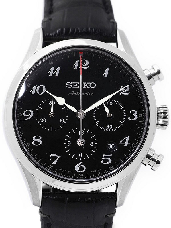 【SEIKO】【自動巻腕時計60周年記念限定1000本】【漆ダイアル】【裏スケ】【美品】セイコー『プレサージュ』SARK003 メンズ 自動巻き 3ヶ月保証【中古】