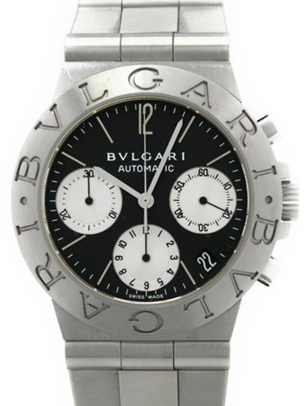 【BVLGARI】ブルガリ『ディアゴノ スポーツ クロノグラフ』CH35S メンズ 自動巻き 3ヶ月保証【中古】