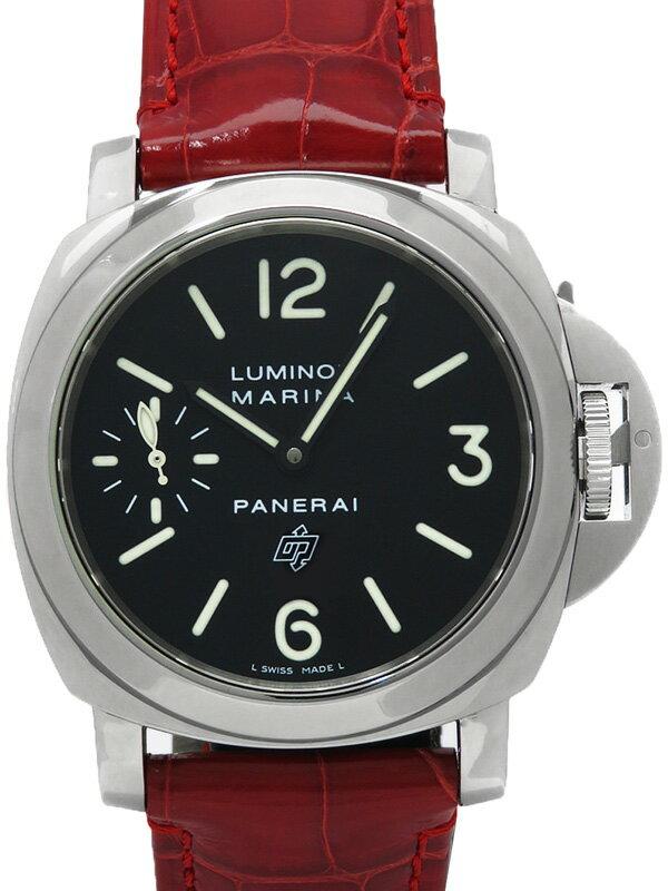 【PNERAI】パネライ『ルミノール マリーナ ロゴ 44mm』PAM00005 J番'07年製 メンズ 手巻き 6ヶ月保証【中古】