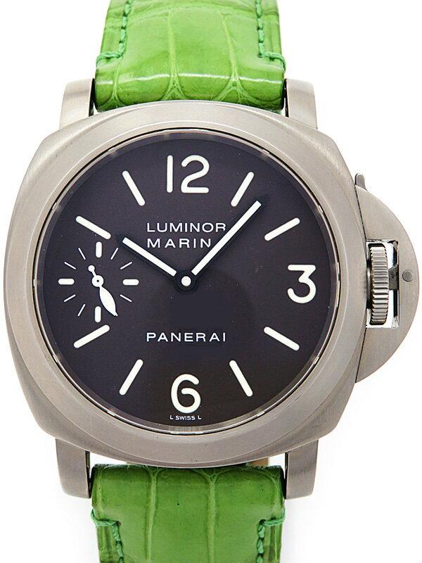【PANERAI】パネライ『ルミノール マリーナ 44mm』PAM00061 D番'05年製 メンズ 手巻き 6ヶ月保証【中古】