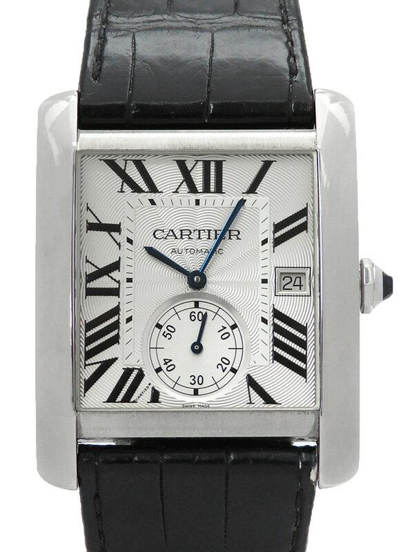 【CARTIER】【裏スケ】カルティエ『タンクMC』W5330003 メンズ 自動巻き 6ヶ月保証【中古】