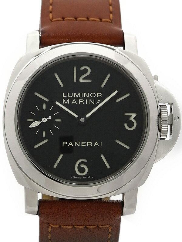 【PANERAI】【裏スケ】パネライ『ルミノールマリーナ 44mm』PAM00111 J番'07年製 メンズ 手巻き 6ヶ月保証【中古】