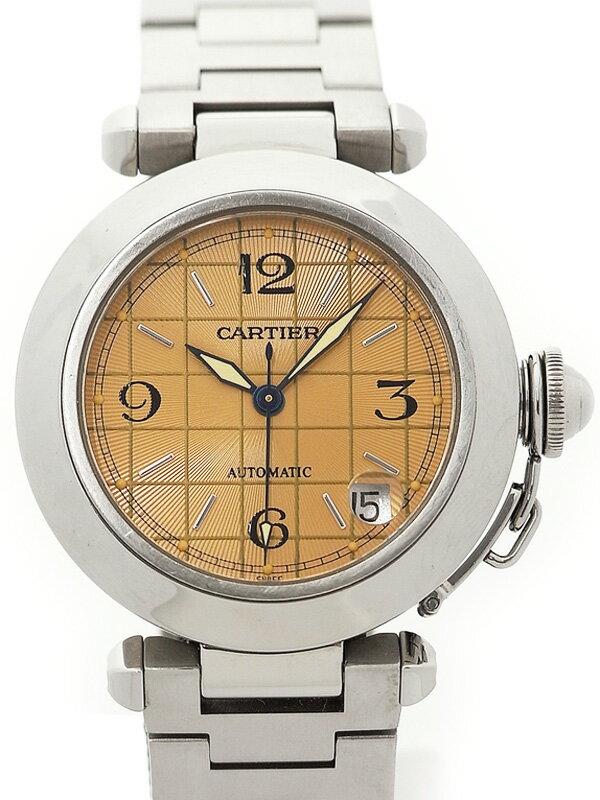 【CARTIER】カルティエ『パシャC 35mm』W31024M7 ボーイズ 自動巻き 3ヶ月保証【中古】