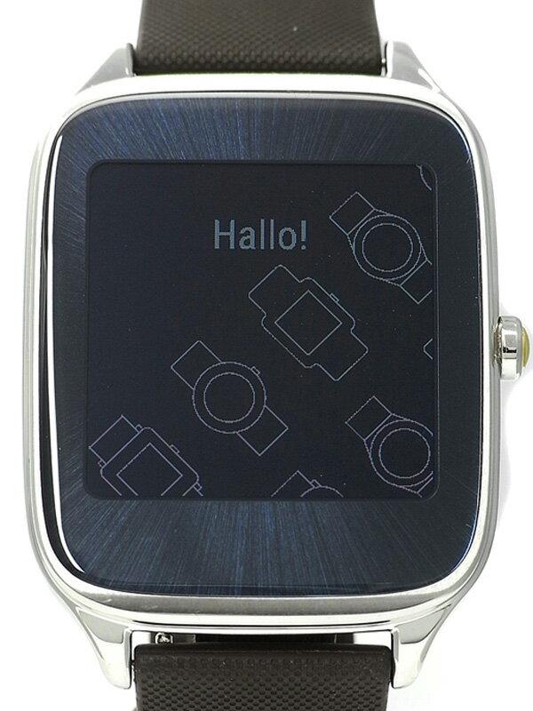 【ASUS】【スマートウォッチ】エイスース『Zen Watch2』WI501Q-SR-BW-Q メンズ ウェアラブル端末 1週間保証【中古】