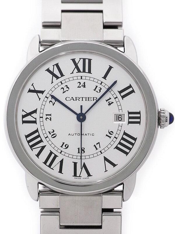 【CARTIER】【仕上済】カルティエ『ロンドソロ XL』W6701011 メンズ 自動巻き 3ヶ月保証【中古】