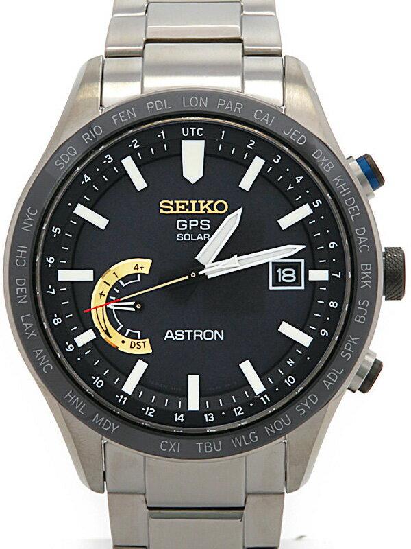 【SEIKO】【3000本限定】【'17年購入】セイコー『アストロン 大谷翔平限定モデル』SBXB119 メンズ ソーラーGPS 3ヶ月保証【中古】