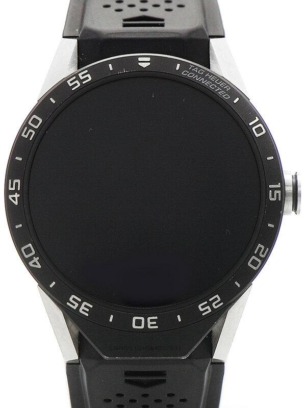 【TAG Heuer】【スマートウォッチ】タグホイヤー『コネクテッドウォッチ』SAR8A80.FT6045 メンズ ウェアラブル端末 3ヶ月保証【中古】