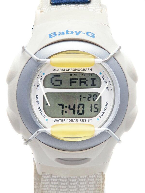 【CASIO】【BABY-G】【電池交換済】カシオ『ベビーG』BG-097 レディース クォーツ 1週間保証【中古】