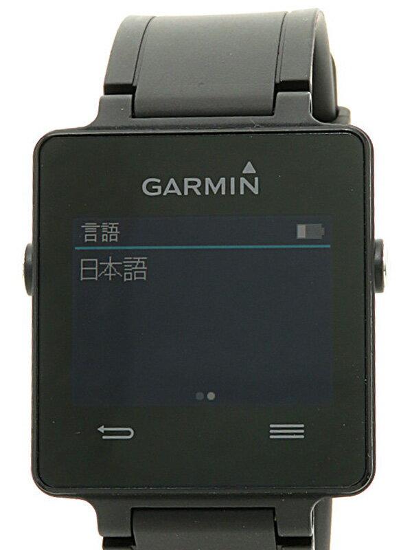 【GARMIN】【スマートウォッチ】ガーミン『vivoactive J Black』010-01297-06 ボーイズ ウェアラブル端末 1週間保証【中古】