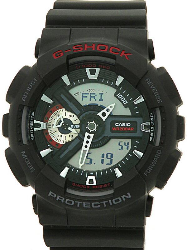 【CASIO】【G-SHOCK】カシオ『Gショック』GA-110-1AJF メンズ クォーツ 1週間保証【中古】