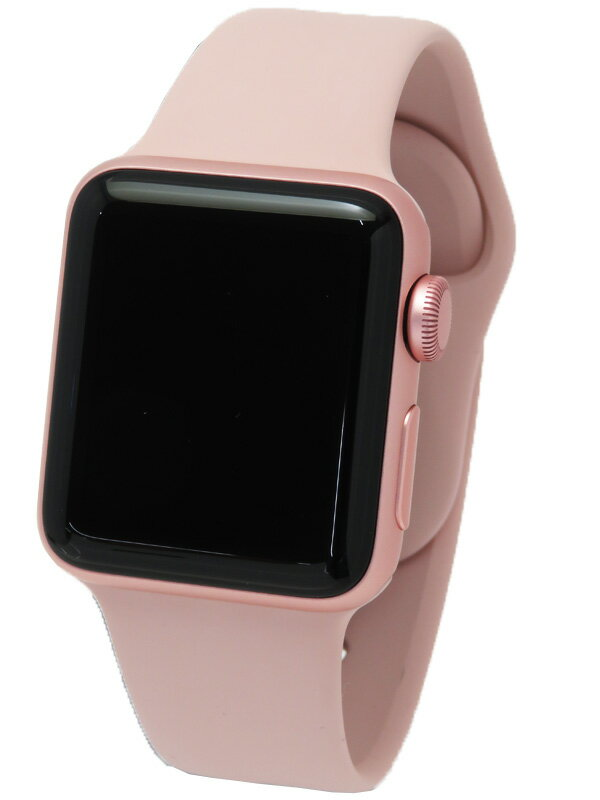 【Apple】【アップルウォッチ第2世代】アップル『Apple Watch Series2 38mm ローズゴールド』MNRT2J/A ボーイズ ウェアラブル端末 1週間保証【中古】
