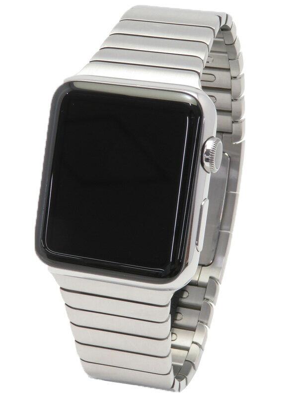 【Apple】【アップルウォッチ】【スマートウォッチ】アップル『Apple Watch 42mm』MJ442J/A ボーイズ ウェアラブル端末 1週間保証【中古】