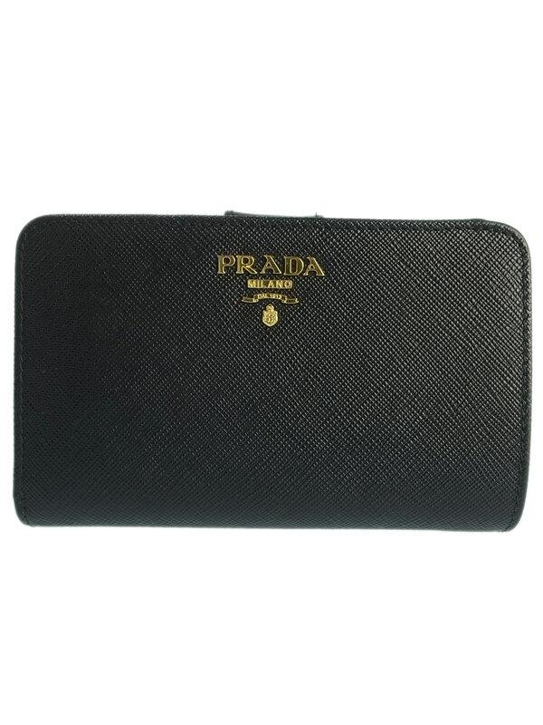 【PRADA】プラダ『L字ファスナー 短財布』1ML225 レディース 1週間保証【中古】