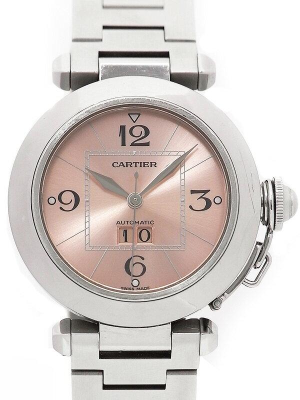 【Cartier】カルティエ『パシャC ビッグデイト』W31058M7 ボーイズ 自動巻き 3ヶ月保証【中古】