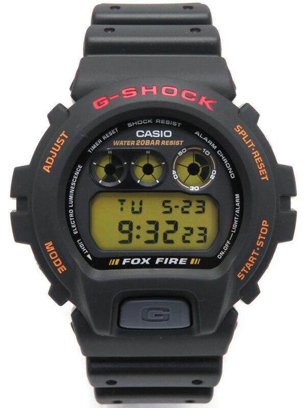 【CASIO】【G-SHOCK】【美品】カシオ『Gショック FOXFIRE』DW-6900B-9 メンズ クォーツ 1週間保証【中古】