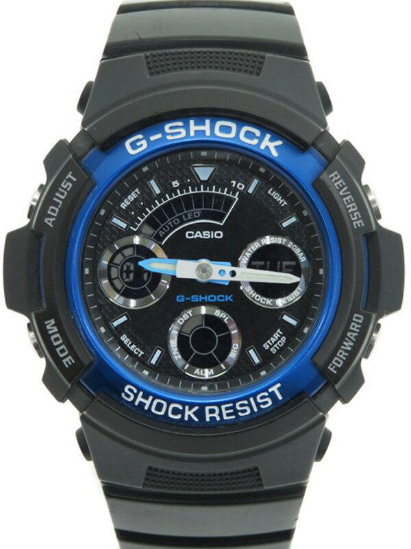 【CASIO】【G-SHOCK】カシオ『Gショック』AW-591-2AJF メンズ クォーツ 1週間保証【中古】