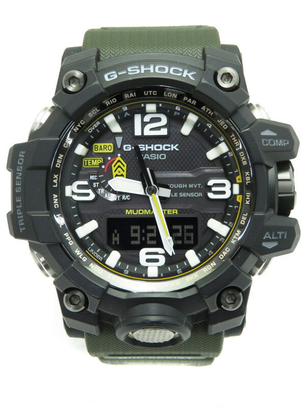 【CASIO】【G-SHOCK】カシオ『Gショック マッドマスター』GWG-1000-1A3JF メンズ ソーラー電波クォーツ 1週間保証【中古】