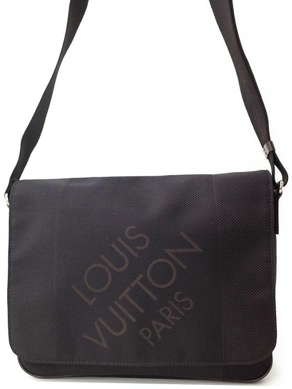 【LOUIS VUITTON】ルイヴィトン『ダミエ ジェアン プチ メサジェ』M93618 メンズ ショルダーバッグ 1週間保証【中古】