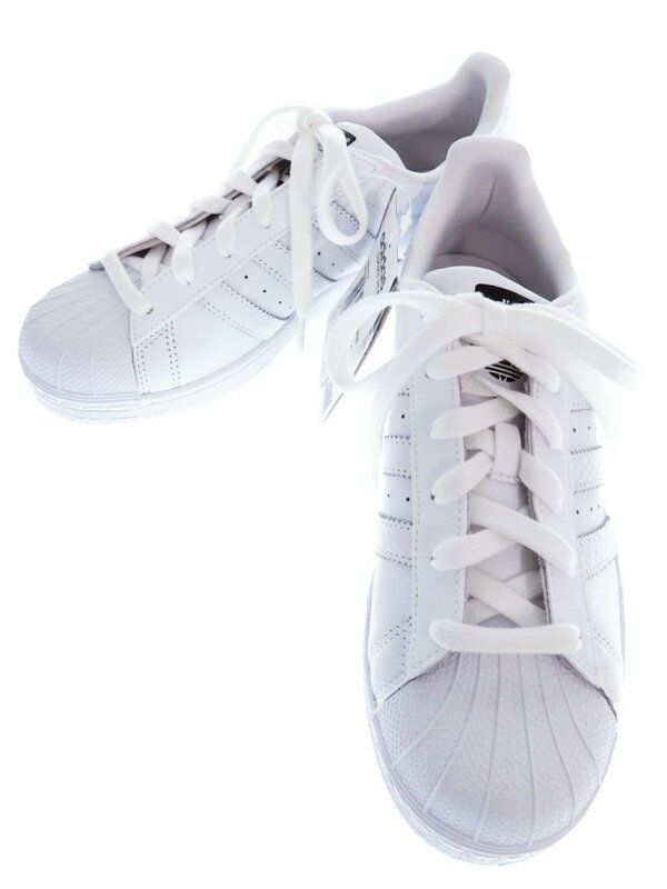 【adidas】【SUPERSTAR W】アディダス『スーパースター W size7 1/2』S82820 レディース スニーカー 1週間保証【中古】