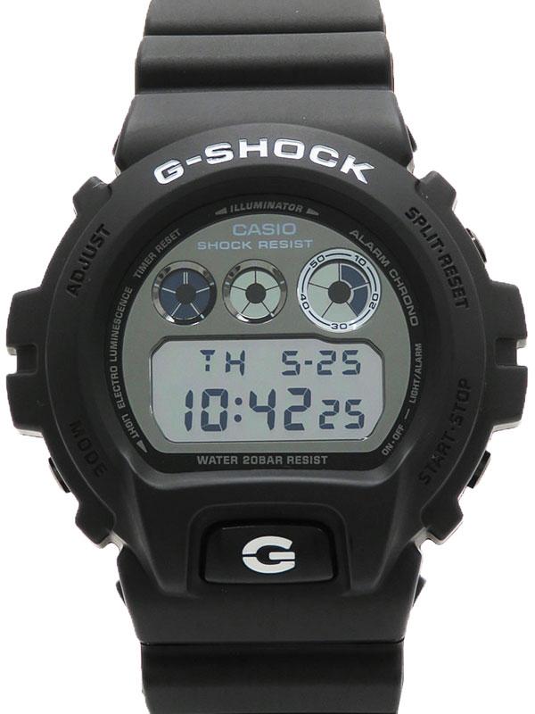 【CASIO】【G-SHOCK】カシオ『Gショック ガリッシュブラックシリーズ』DW-6900BW-1JF メンズ クォーツ 1週間保証【中古】