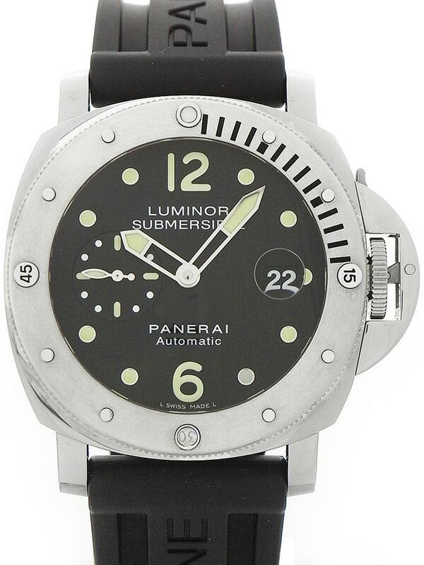【PANERAI】【'17年購入】パネライ『ルミノール サブマーシブル 44mm』PAM00024 S番'16年製 メンズ 自動巻き 6ヶ月保証【中古】