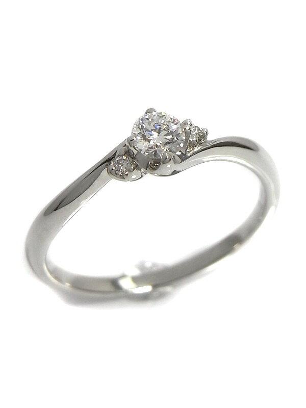 【ソーティング】【仕上済】セレクトジュエリー『PT900リング ダイヤモンド0.192ct/E/VS-1/VERY GOOD 0.03ct』11.5号 1週間保証【中古】
