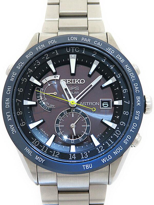 【SEIKO】セイコー『アストロン』SAST023G メンズ ソーラーGPS 1ヶ月保証【中古】
