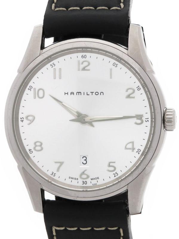 【HAMILTON】ハミルトン『ジャズマスター シンライン』H38511553 メンズ クォーツ 1週間保証【中古】