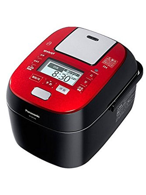 【Panasonic】パナソニック『Wおどり炊き』SR-WSX106S-K ルージュブラック 5.5合炊き スチーム&可変圧力IHジャー炊飯器【中古】