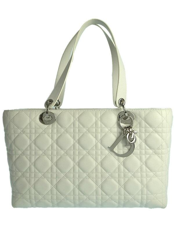 【Christian Dior】【カナージュ】クリスチャンディオール『レディディオール ハンドバッグ』CAL44596 レディース 1週間保証【中古】