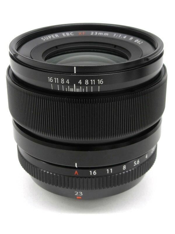 富士フイルム『FUJINON XF23mmF1.4 R』35mm相当 ポートレート ミラーレス一眼カメラ用レンズ 1週間保証【中古】