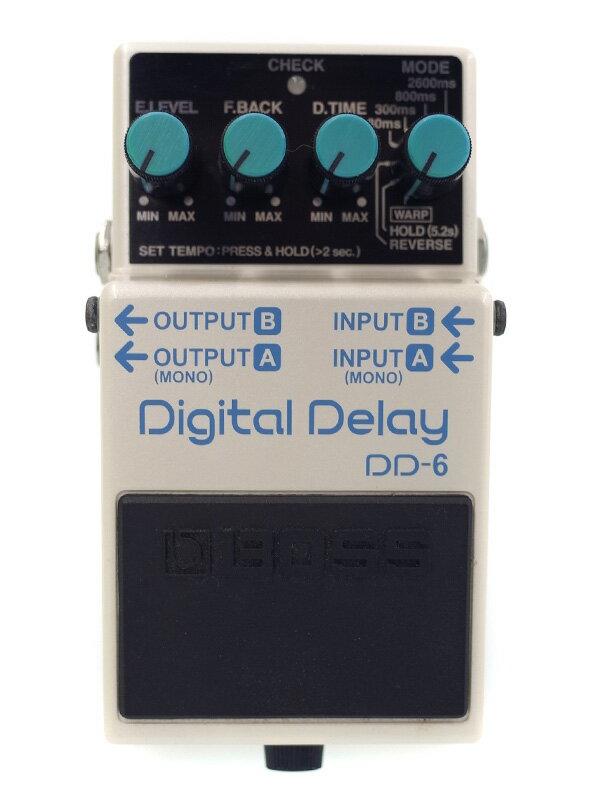【BOSS】ボス『デジタルディレイ』DD-6 コンパクトエフェクター 1週間保証【中古】