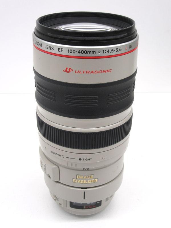 【Canon】キヤノン『EF100-400mm F4.5-5.6L IS USM』EF100-400LIS 望遠ズーム 一眼レフカメラ用レンズ 1週間保証【中古】