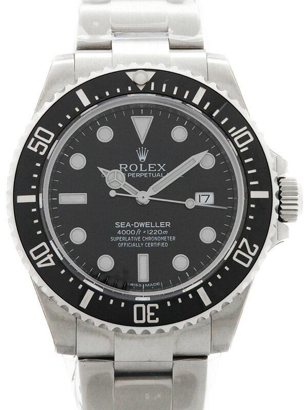 【ROLEX】【'15年購入】ロレックス『シードゥエラー 4000』116600 ランダム番 メンズ 自動巻き 12ヶ月保証【中古】