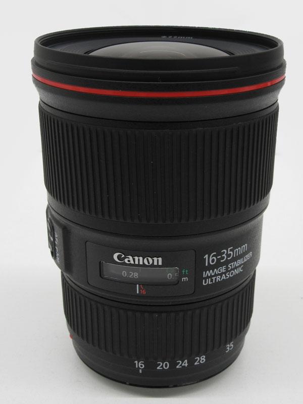 キヤノン『EF16-35mm F4L IS USM』EF16-3540LIS 非球面 超広角ズーム 一眼レフカメラ用レンズ 1週間保証【中古】