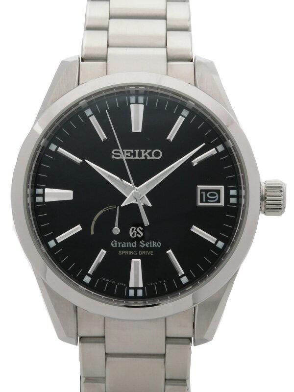 【SEIKO】セイコー『グランドセイコー』SBGA101 メンズ スプリングドライブ 3ヶ月保証【中古】