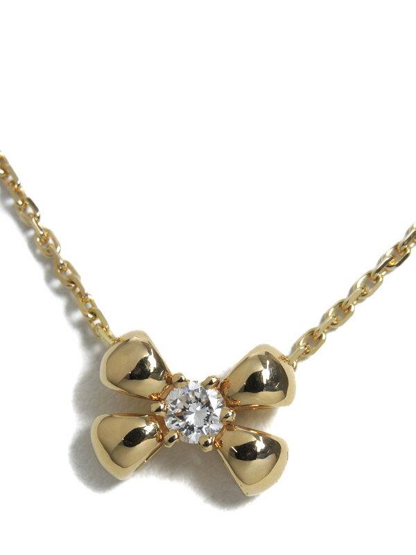 【CHAUMET】ショーメ『K18YG ネックレス ダイヤ』1週間保証【中古】