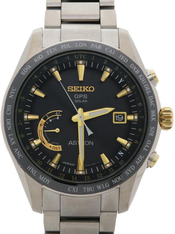 【SEIKO】【美品】セイコー『アストロン』SBXB087 メンズ ソーラーGPS 3ヶ月保証【中古】