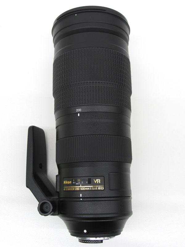 ニコン『AF-S NIKKOR 200-500mm f/5.6E ED VR』AFSVR200-500E FXフォーマット デジタル一眼レフカメラ用レンズ 1週間保証【中古】