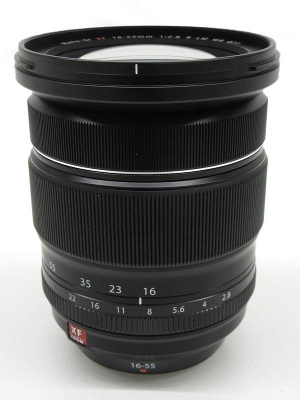 【FUJIFILM】富士フイルム『FUJINON XF16-55mmF2.8 R LM WR』24-84mm相当 標準ズーム ミラーレス一眼カメラ用レンズ 1週間保証【中古】