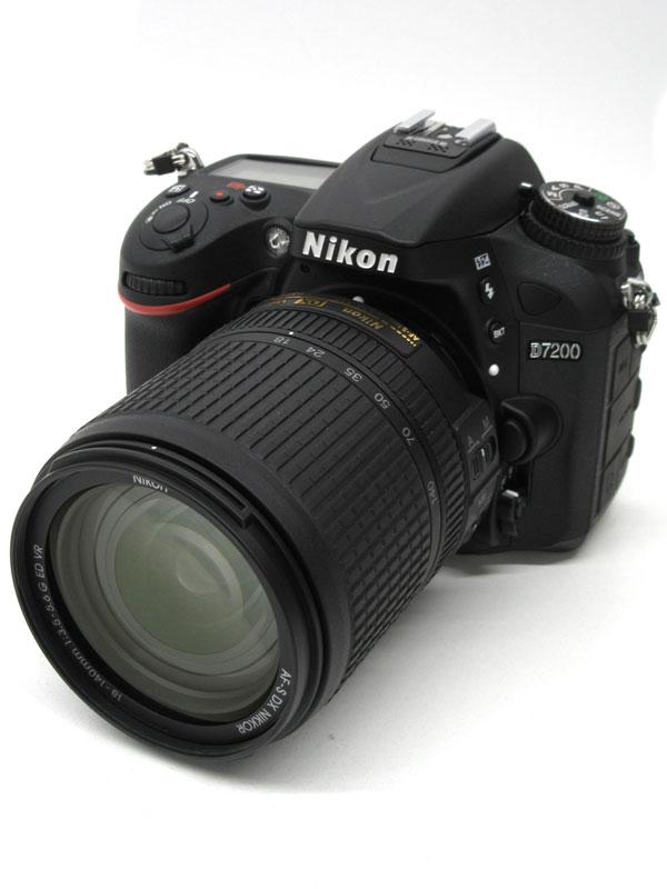 ニコン『D7200 18-140VRレンズキット』D7200LK18-140 2416万画素 デジタル一眼レフカメラ 1週間保証【中古】