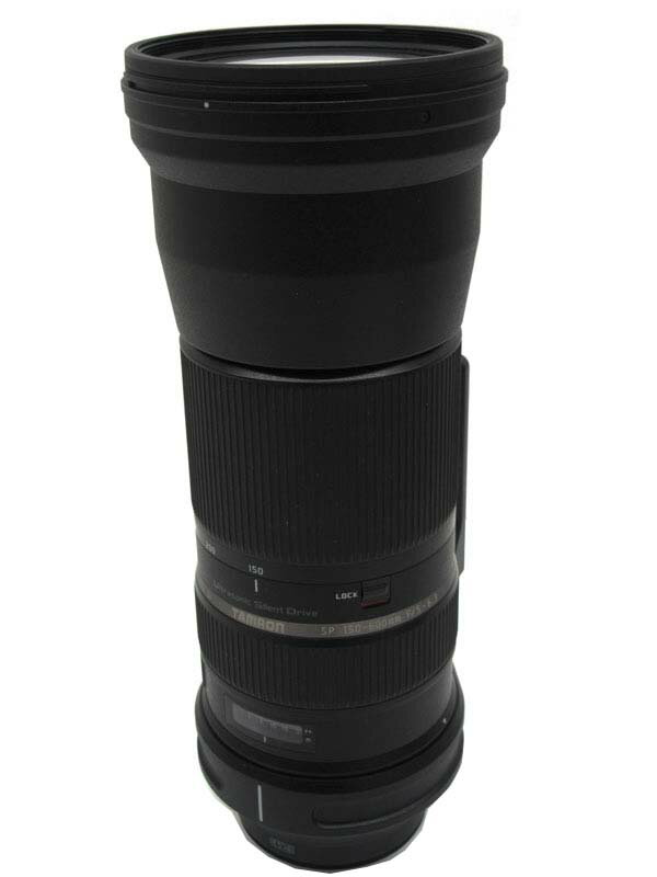 【TAMRON】タムロン『SP 150-600mm F/5-6.3 Di VC USD』A011E キヤノン デジタル一眼レフカメラ用レンズ 1週間保証【中古】