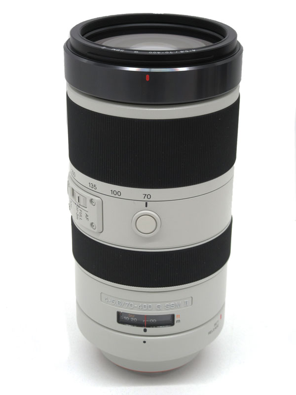 【SONY】ソニー『70-400mm F4-5.6 G SSM II』SAL70400G2 Aマウント フルサイズ デジタル一眼カメラ用レンズ 1週間保証【中古】