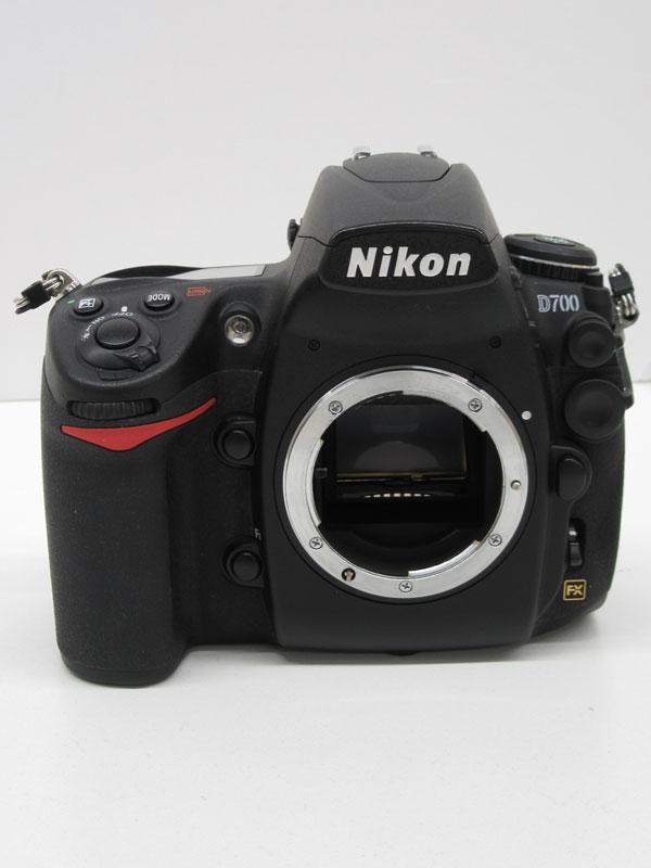 ニコン『D700』1210万画素 FXフォーマット ISO6400 ボディー デジタル一眼レフカメラ 1週間保証【中古】