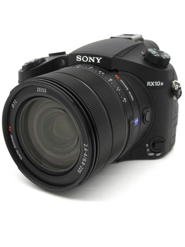 【SONY】ソニー『Cyber-shot(サイバーショット) RX10 III』DSC-RX10M3 24-600mm相当 4K動画 Wi-Fi コンパクトデジタルカメラ 1週間保証【中古】