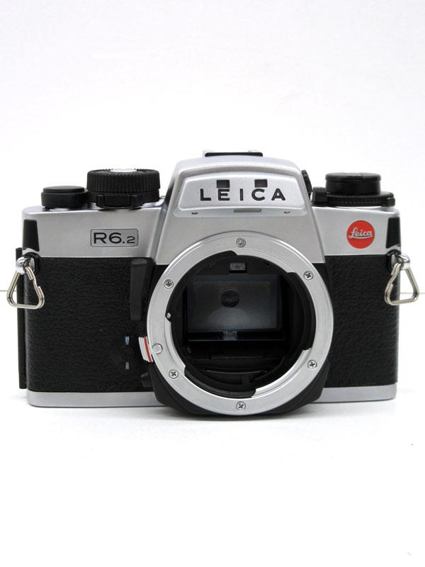 【Leica】ライカ『LEICA R6.2』 シルバー マニュアルフォーカス ボディー フィルム一眼レフカメラ 1週間保証【中古】